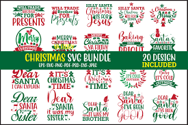 Christmas Svg Bundle Graphic By Design Store Creative Fabrica