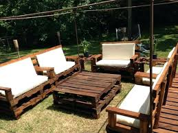 unique outdoor furniture made from pallets or back to patio furniture made  out of pallets 23