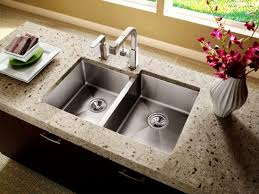 attractive stainless steel double sink undermount kitchen great ideas for decorating using grey laminate counter tops full size of large size of