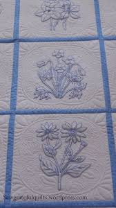 Best 25+ Embroidered quilts ideas on Pinterest | Quilting, Baby ... & Classic Bluework Embroidery Quilt Adamdwight.com