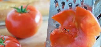 grate fresh tomatoes instead of ing