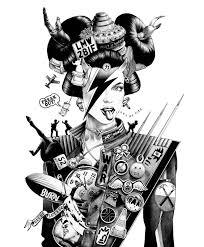 Illustration Art Manga Ballpoint Pen Hakuchi Shohei Otomo Japanese