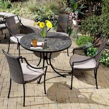 Small Outdoor Table Set Small Mosaic Patio Table Home Design Ideas