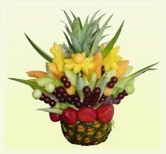 Pineapple Fruit Arrangement Edible Fruit Arrangements