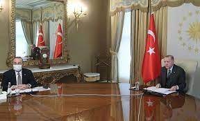 Turkey: Erdogan, Michel, von der Leyen discuss building a positive agenda