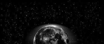 风景3d宇宙星空与月亮高清壁纸背景素材619201200 Sheji120com