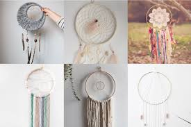 Materials To Make Dream Catchers Simple DIY Dreamcatcher Tutorials Hey Let's Make Stuff