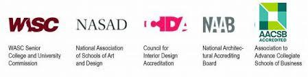 council of interior design accreditation. Contemporary Design Woodbury University Accreditation Logo Banner Inside Council Of Interior Design A