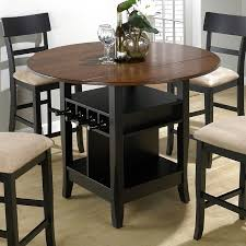 bar height dining table with storage unique counter height tables round bar height dining table set