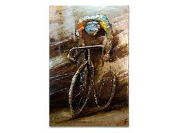 cycling wall art racing cyclist metal wall hanging metal bicycle wall art hobby lobby on peloton abstract cycling team metal wall art with cycling wall art racing cyclist metal wall hanging metal bicycle