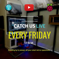 join us this friday live