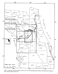 Geohydrology of the cross florida barge canal area with special reference to the ocala vicinity
