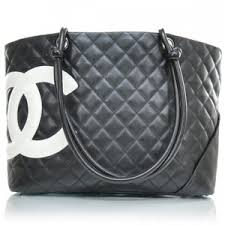 chanel bags black and white. chanel leather cambon ligne quilted large tote black chanel bags and white i