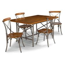 Home Styles Orleans 5-Piece Carmel Cherry Dining Set Set-5061-318 - The