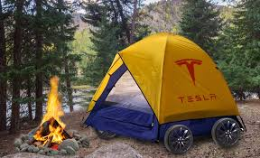 Tesla Camper Mode: I Went Camping in the Trunk of a Model S
