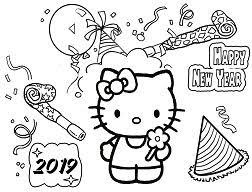 Just click on the hello kitty coloring pages that you like and then click on the print button at the top of the page. Hello Kitty Coloring Pages Coloringpagesonly Com