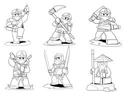 Lego Ninjago Coloring Pages Color Bros