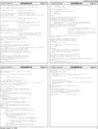 Multi Page Resume
