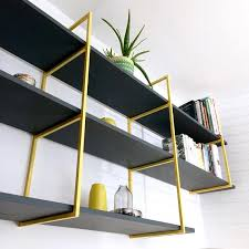 Coloured Floating Shelves Cool Modern Shelving Colourful Shelf Brackets Custom Shelving Made To