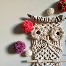 macrame wall hanging pattern for