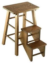 Wooden kitchen step stool Step Ladder Wooden Kitchen Step Stool Step Stool For Kitchen Hardwood Folding Step Stool Wooden Kitchen Step Stool Furniture Barn Usa Wooden Kitchen Step Stool Pointtiinfo