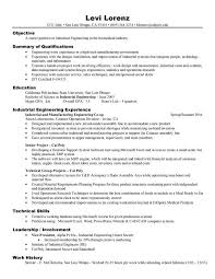 Sample Resume For Co Op Student
