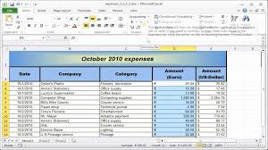 Business Ledger Templates Business Ledger Template Excel Free Expense Spreadsheet Template