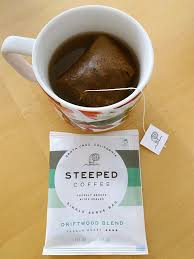 Josh wilbur, ceo and founder of steeped, a roaster in santa cruz, california, says he started experimenting by simply putting coffee into tea bags. A Stellar Cup Of Steeped Coffee Giveaway Limbylim