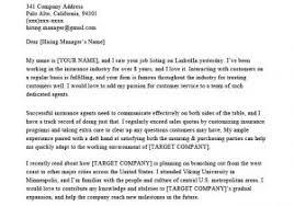 Cover Letter Examples For Insurance Company Insurance Broker Cover