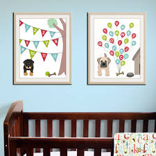 new dog alphabet abc canvas painting modern baby nursery wall art print posters prints pictures decoration on baby wall art prints with new dog alphabet abc canvas painting modern baby nursery wall art