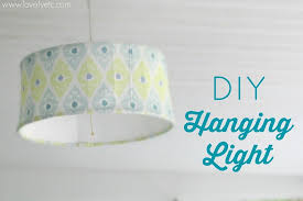 you can make a simple inexpensive hanging pendant for any room in your house with