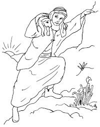 Small Picture Coloring Download Parable Of The Lost Sheep Coloring Page