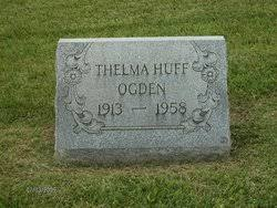 Thelma Huff Ogden (1913-1958) - Find A Grave Memorial