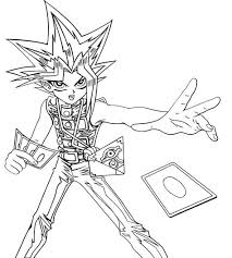 You can target 1 card your opponent controls; Yu Gi Oh Coloring Pages Learny Kids
