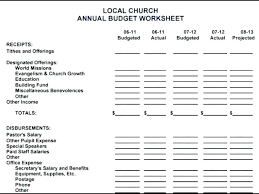 Church Budget Template Excel Monthly Balance Sheet Excel Template Awesome Blank Personal