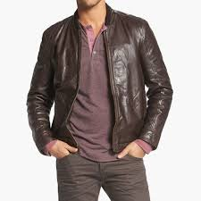 details about new 725 marc new york by andrew marc men s cash leather er jacket sz l xl