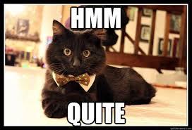 Fancy Cat memes | quickmeme via Relatably.com