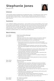 Cost Accounting Manager Resume samples