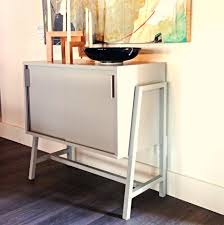 Retro Credenza Modern Contemporary Credenza Media Sideboard Cabinet Surripuinet
