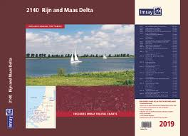 Imray 2140 Grevelingenmeer And Maas Delta Chart Atlas 2017