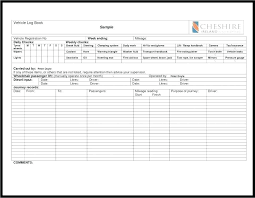 Car Service Record Template Vehicle Expense Log Book Record Template Design Poster