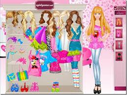 barbie games makeup and dress up free