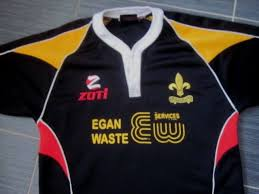 match worn 9 mens wales fleur de lys rfc 2009 10 home rugby shirt 44