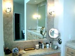 jerdon wall mount mirrors wall mount mirror wall mount mirror with light led lighted wall mount