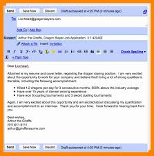 Resume Send Mail Format Free Cover Letter 2018 Send Mail Format