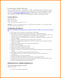 12 Cosmetology Resumes Examples Catering Resume