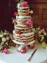 The Naked Wedding Cake Dairy Cottage Cake Designs