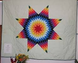 613 best craftystuffz images on Pinterest | Star blanket, American ... & Lakota Sioux Star Quilt Design Adamdwight.com