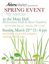 astoria market spring ping event bohemian hall beer