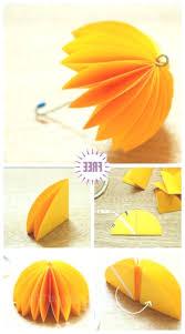 kids craft easy origami paper umbrella diy tutorial smiling children outdoor